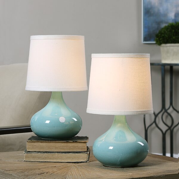 Craycroft 13 Table Lamp (Set of 2) by Beachcrest Home