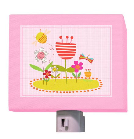 Friendly Flower Patch Night Light by Oopsy Daisy