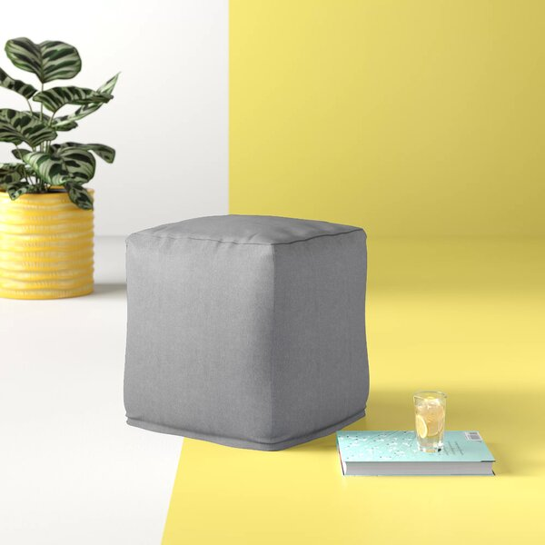 Kaliyah Small Cube Outdoor Ottoman By Hashtag Home by Hashtag Home Top Reviews