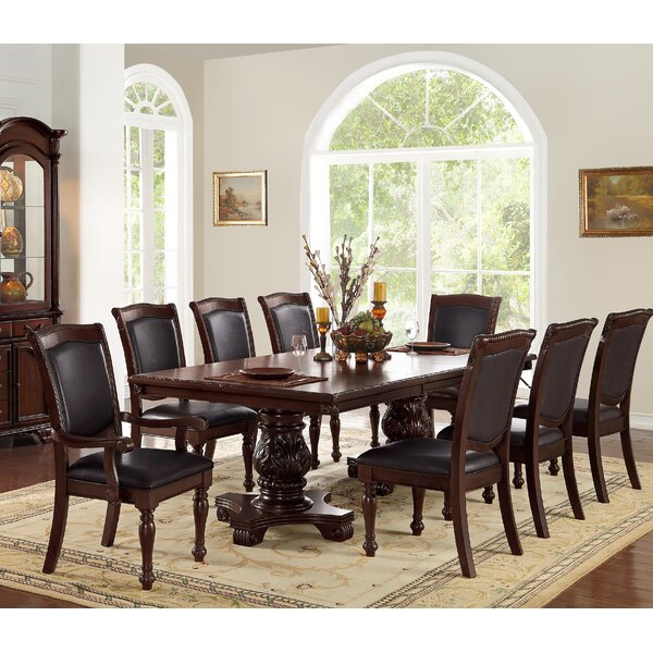 Sandiford 9 Piece Dining Set by Astoria Grand