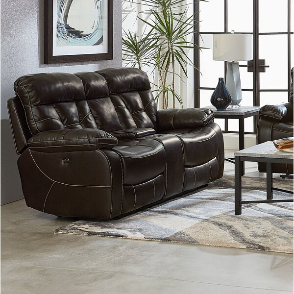 Online Shopping Discount Ellenton Reclining Loveseat with Pillow Top Arms by Red Barrel Studio by Red Barrel Studio