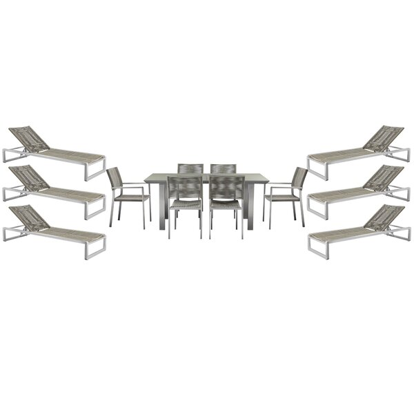 Bella 6 Piece Complete Patio Set By Orren Ellis by Orren Ellis Herry Up