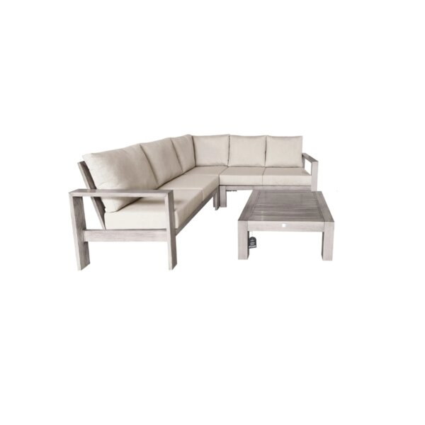 3 Piece Sectional Sofa Set with Cushion