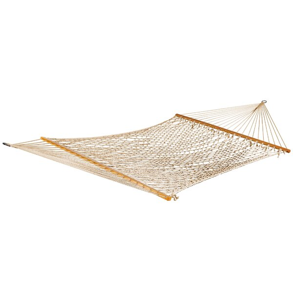 Rollins Double Polyester Rope Hammock by Bay Isle Home