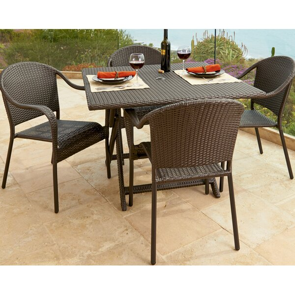 Vista 5 Piece Dining Set by Forever Patio