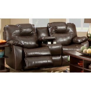 Avalon Double Leather Reclining Loveseat by Southern Motion