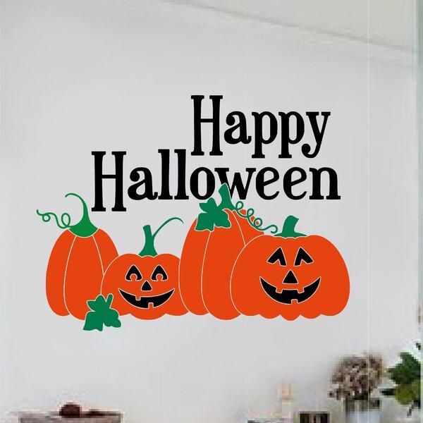 Happy Halloween Wall Decal by Enchantingly Elegant