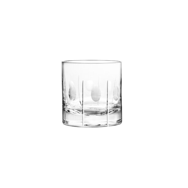 Gulfstream DOF Glass (Set of 4) by Qualia Glass