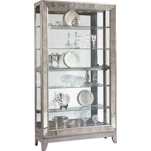 Acubens Lighted Curio Cabinet