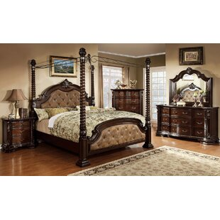 Goulding Upholstered Canopy Bed by Astoria Grand