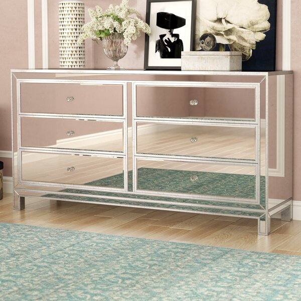 Best #1 Mariaella 6 Drawer Double Dresser By Rosdorf Park Herry Up