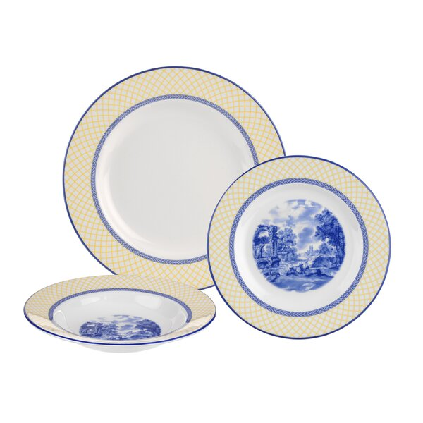 Giallo 3 Piece Place Setting, Service for 1 by Spode