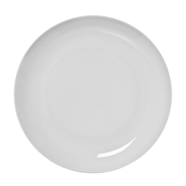 Royal Coupe White Oversized 11 Dinner Plate (Set of 6) by Ten Strawberry Street