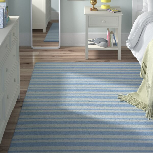 Marlon Blue Area Rug by Viv + Rae