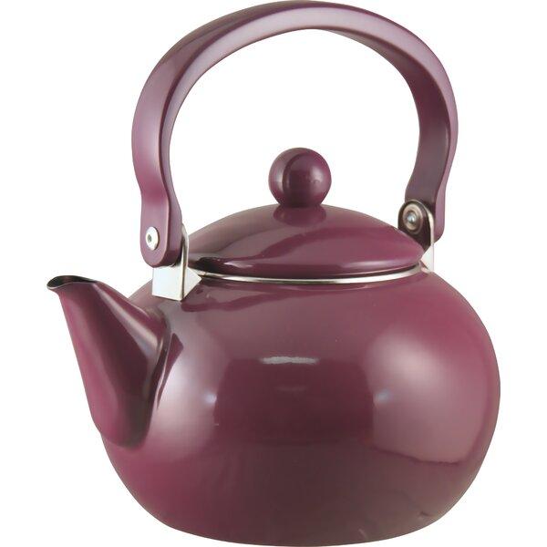 Calypso Basic 2 Qt. Harvest Tea Kettle by Reston Lloyd