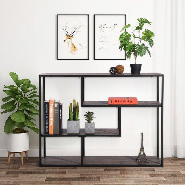 Axminster MDF Geometric Bookcase By Ebern Designs