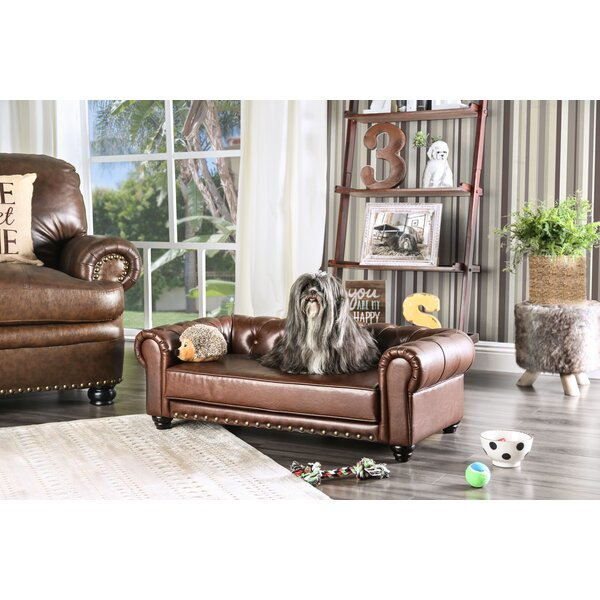 Beverly Chesterfield Dog Sofa by Enitial Lab