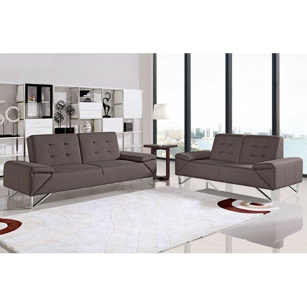 Coalpit Heath Sleeper 2 Piece Living Room Set by Orren Ellis
