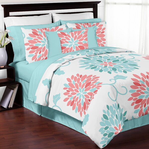 Emma Reversible Comforter Set by Sweet Jojo Designs