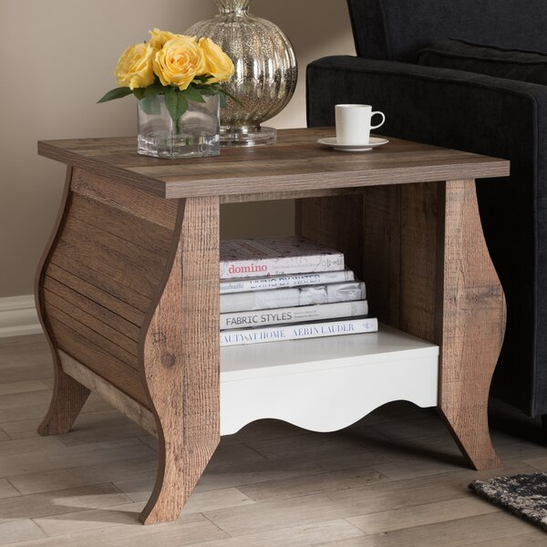 Elicia End Table by World Menagerie