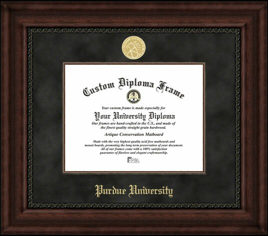 NCAA Purdue University Executive Diploma Picture Frame by Campus Images