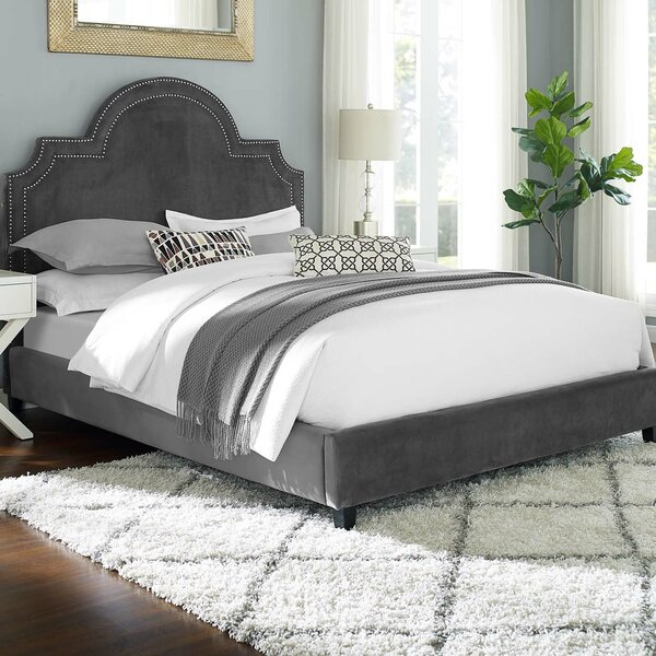 Grasmere Queen Upholstered Platform Bed by Charlton Home
