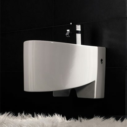 Zefiro 17 Wall Mount Bidet by Scarabeo by Nameeks