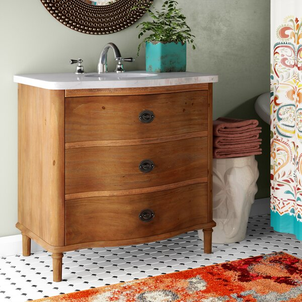 Blaire 36 Bathroom Vanity Set By World Menagerie.