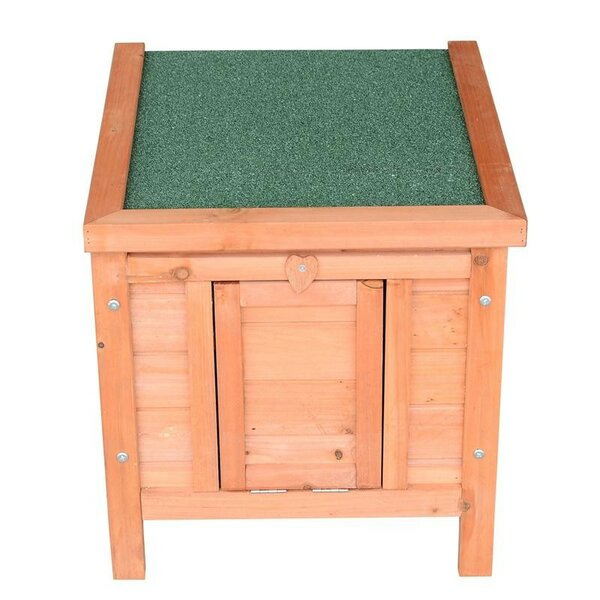 Lenore Small Bunny Rabbit/Guinea Pig House by Tucker Murphy Pet