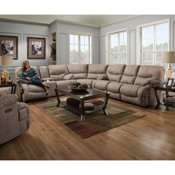 Milena Simmons Reclining Sectional by Winston Porter