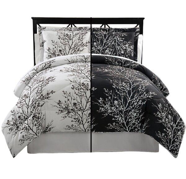 Kulshan 8 Piece Reversible Comforter Set by Charlton Home