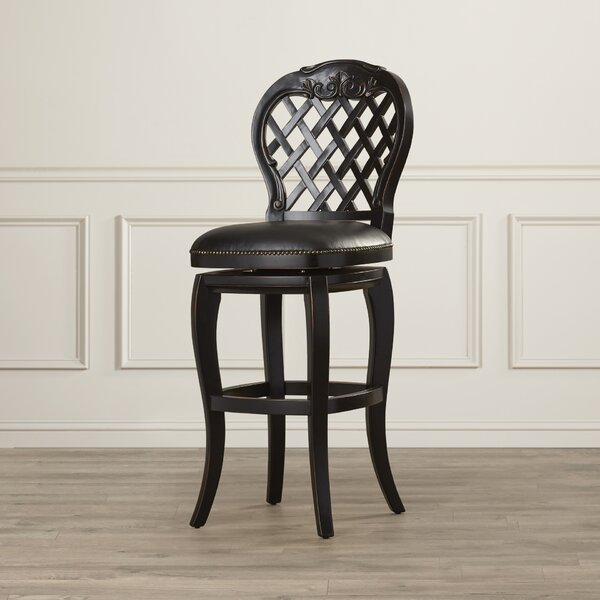 Lootens 30 Swivel Bar Stool by Astoria Grand
