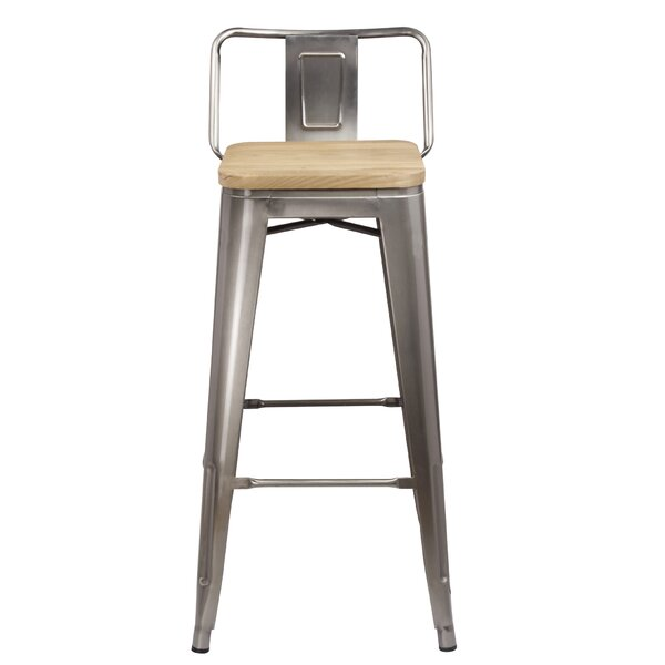 Mcsweeney Low Back 30 Bar Stool by Williston Forge
