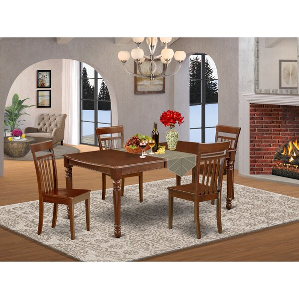 Reva 7 Piece Extendable Solid Wood Dining Set By Alcott Hill