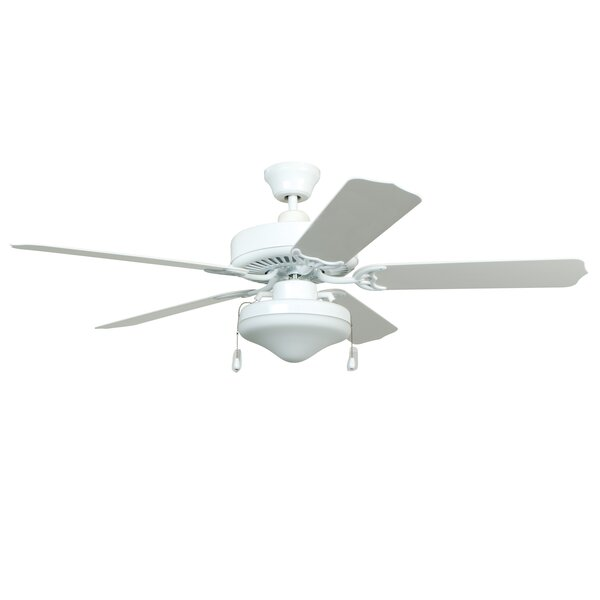 52 Southerland 5-Blade Ceiling Fan with Light Kit by Red Barrel Studio