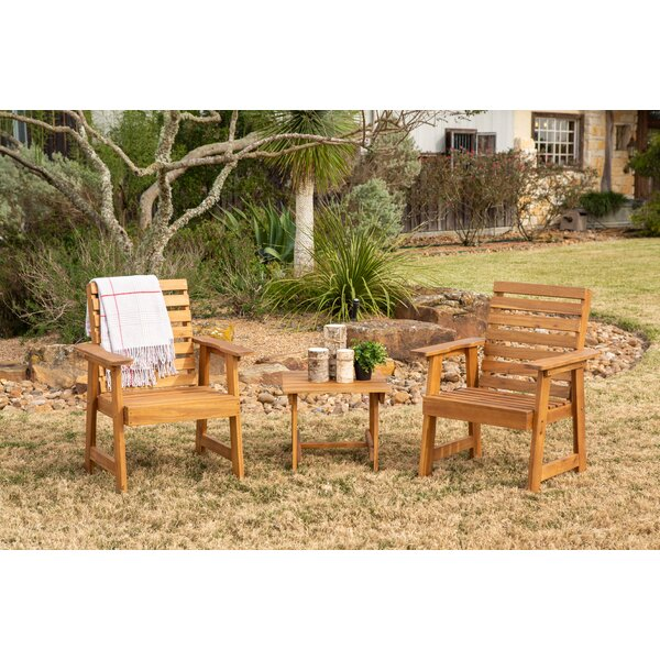 Borica 3 Piece Bistro Set by Loon Peak