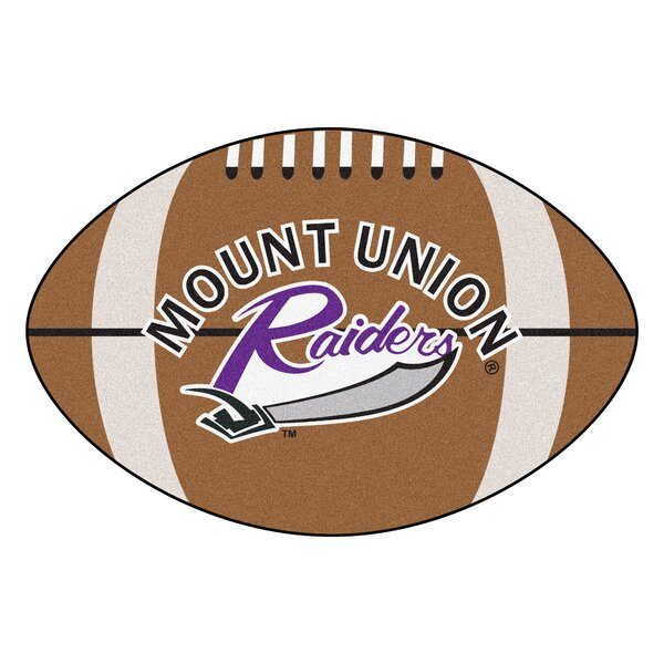 NCAA University of Mount Union Football Mat by FANMATS