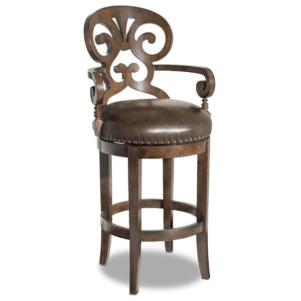 Jameson 30 Swivel Bar Stool by Hooker Furniture