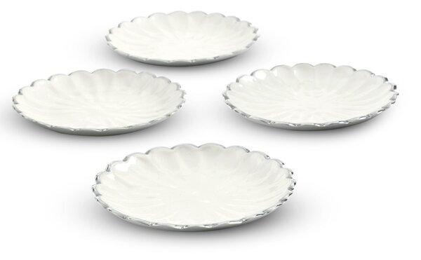 Peony 6 Petite Plates (Set of 4) by Julia Knight Inc