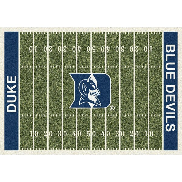 NCAA Team Home Field Novelty Rug by My Team by Milliken