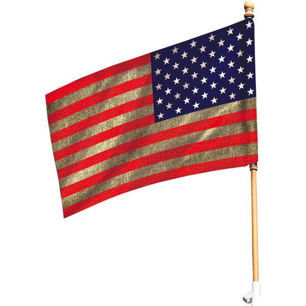American Vertical Flag by Evergreen Flag & Garden