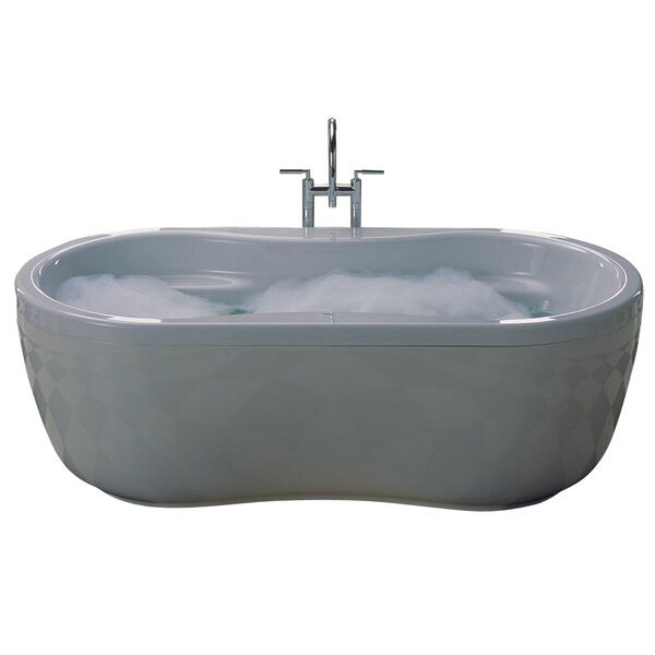 Mega Duo 71 x 35 Soaking Bathtub by Kaldewei