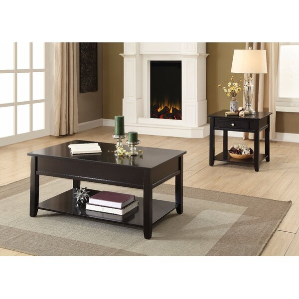 Laverty Traditional Looking Coffee Table By Winston Porter