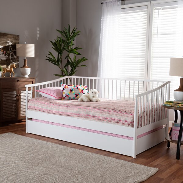 Hanchett Twin Daybed With Trundle by Charlton Home