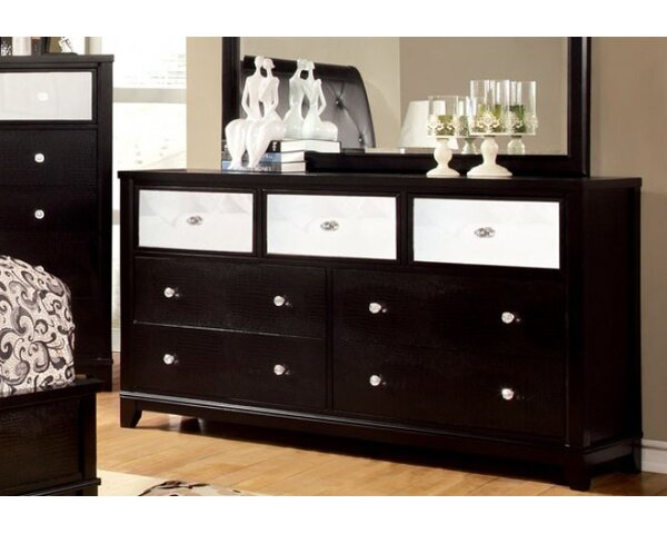 Michaela 7 Drawer Double Dresser by Mercer41