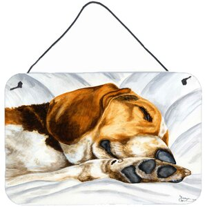 Beagle Bliss by Tanya and Craig Amberson Painting Print Plaque by Caroline's Treasures