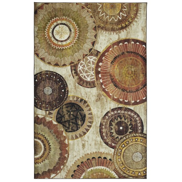 Hedin Taupe/Brown Area Rug by Bloomsbury Market