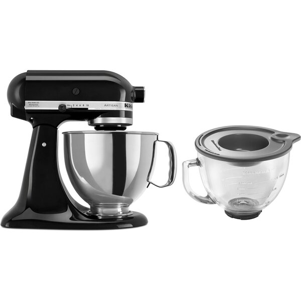 Artisan Series 5 Qt. Stand Mixer with Stainless Steel & Glass Bowls by KitchenAid