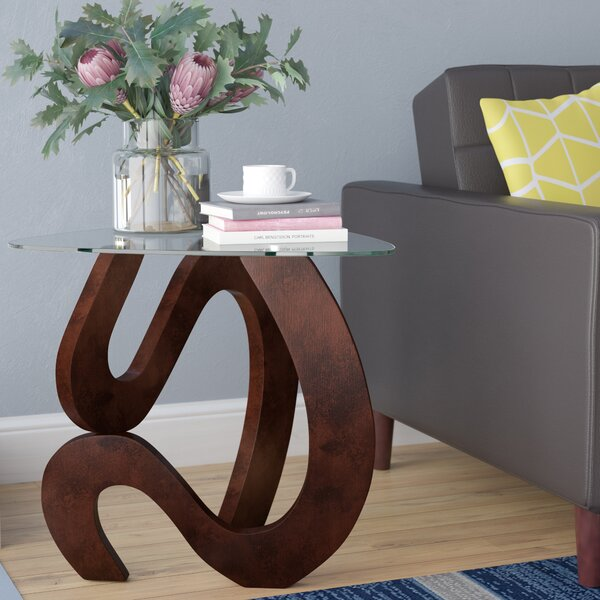 Abree End Table by Wade Logan