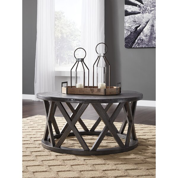 Quigley Coffee Table by Gracie Oaks Gracie Oaks